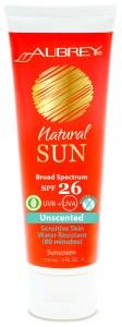 Aubrey Natural Sun SPF 26