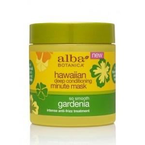 Alba Botanica Hawaiian Deep Conditioning Minute Mask So Smooth Gardenia Pic