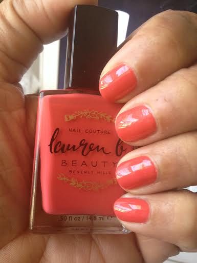 Lauren b beauty Sunset Blvd. swatch and review