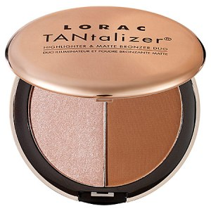 LORAC Tantalizer bronzer highlighter duo