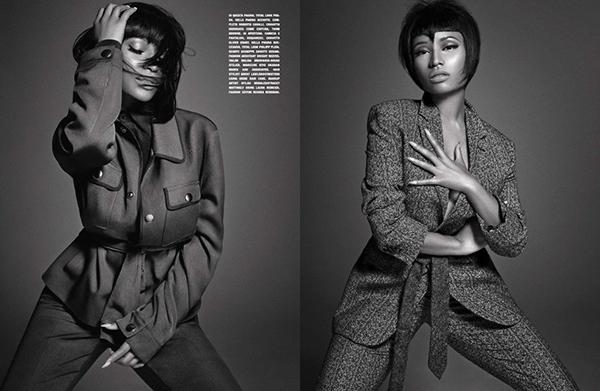 "Nicki Minaj L""Uomo Vogue Music Issue October 2014"