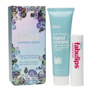 Bliss Mistletoe Gems Mega-Moisturizing Duo for Lips and Hands