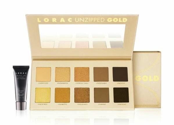 LORAC Unzipped Gold palette