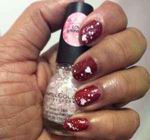 Sinful Colors Love Sprinkles swatch