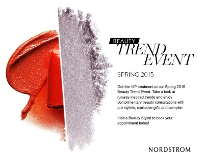 nordstrom spring beauty event
