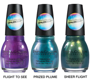 SINFULCOLORS OPALESCENT TREND TOPPERS GROUP IMAGE