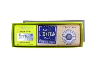 L'Occitane Body Soap Trio