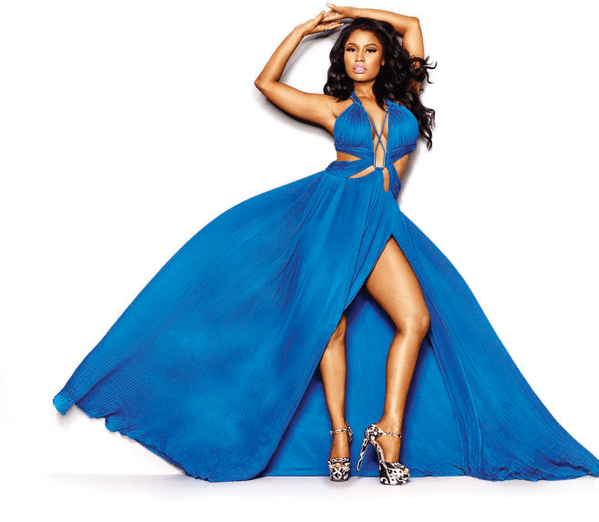 nicki minaj cosmo july 2015