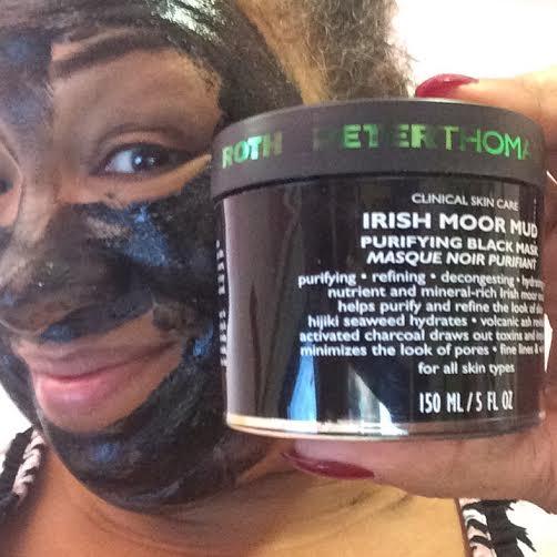 peter thomas roth Irish Moor Mud Purifying Black Mask during