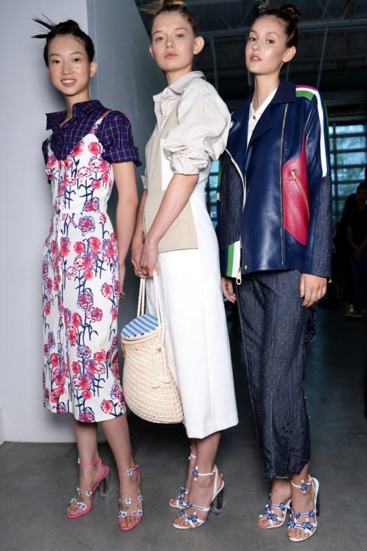 NARS Tanya Taylor SS16 Fashion Look 1