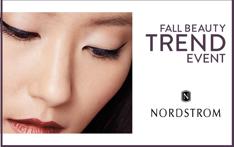 Beauty News: Nordstrom Fall 2015 Beauty Trend Show Dates | Blinging ...