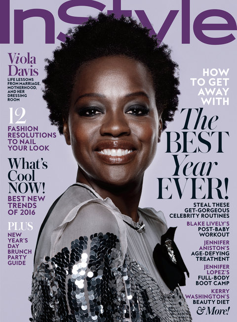 viola davis january 2016 instyle cover