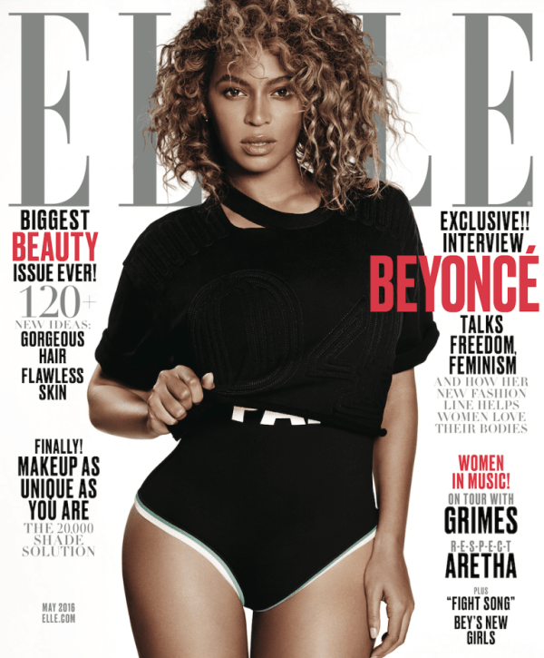 beyonce- ELLE cover-may-2016