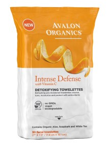 Avalon Organics Intense Defense Towelettes 2