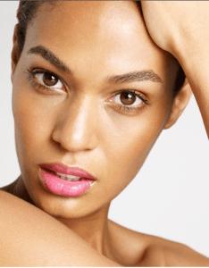 joan smalls light makeupp