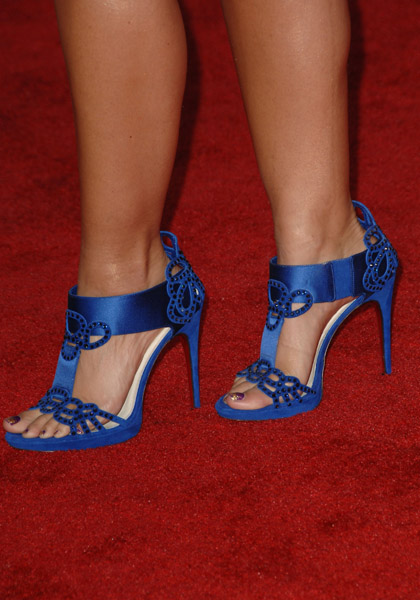 Alicia Keys shoes 2009 AMA's Getty Images