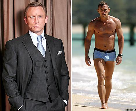 Daniel Craig -- Bond, James Bond