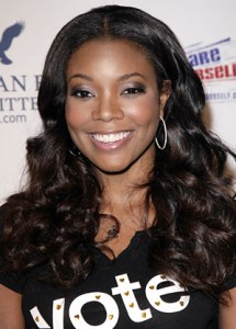 Gabrielle Union, extensions by Ted Gibson