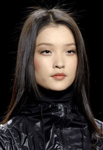 Matte Makeup at Anna Sui
