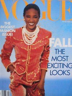 Naomi Campbell Vogue September 1989