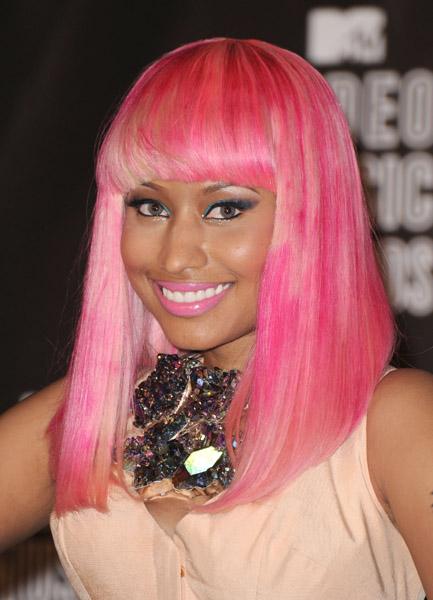 Nicki Minaj MTV VMA's September 12, 2011 Getty Images