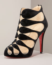 Circus Cutout Suede Bootie $1295