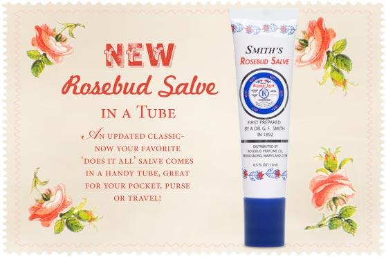 Rosebud Tube $6