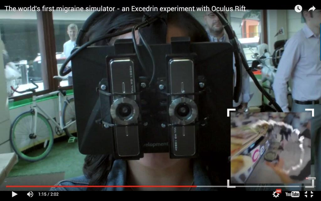Excedrin Oculus Rift