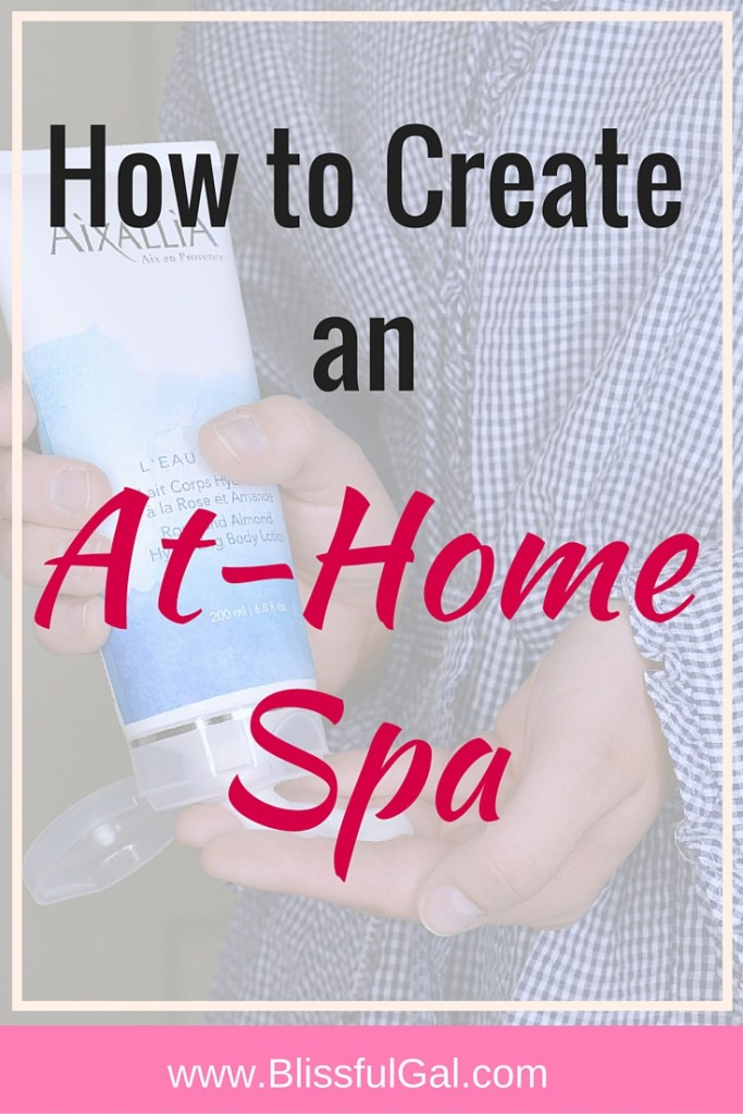 Create an At-Home Spa- Going to the spa is such a luxury that may not be in many of our budgets, but that doesn't have to stop you from creating one at home! You probably already have everything you need to make a spa night at home already, you just need to think a little bit! This post is centered around how I create my own at-home spa and what I do to relax!