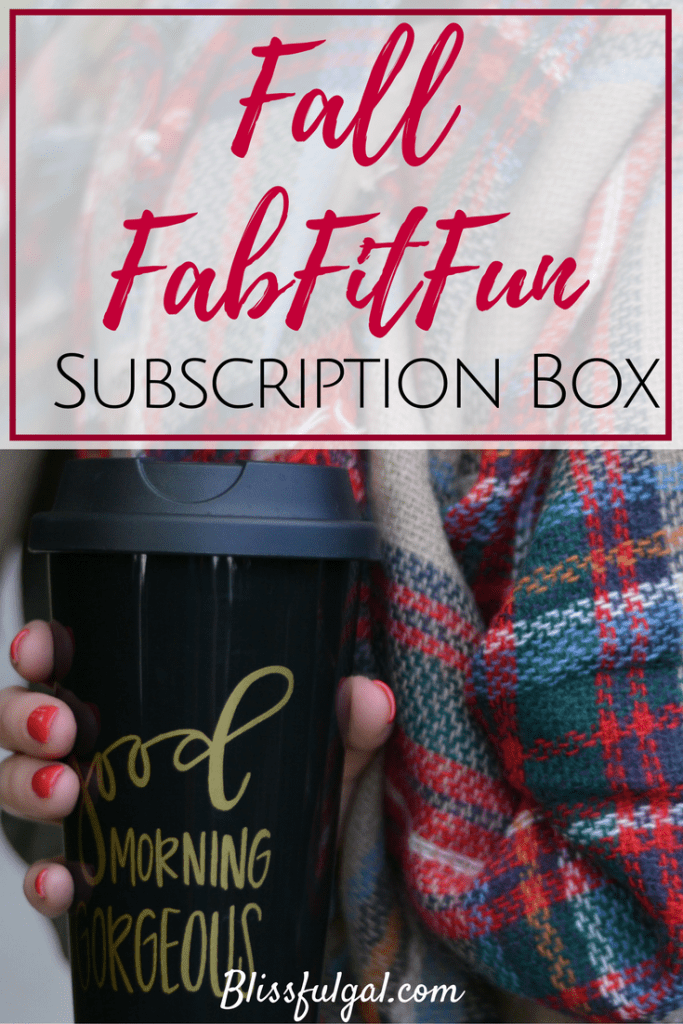 I love getting mail, and my fall FabFitFun box is no different! This lifestyle subscription box is really the cat's meow!