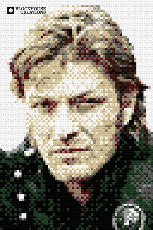100 Days of Mosaics – Day 23 – Sean Bean