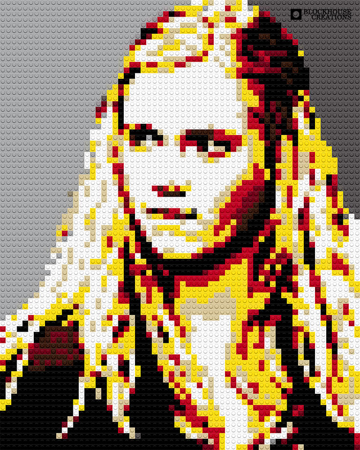 100 Days of Mosaics – Day 24 – Eliza Taylor