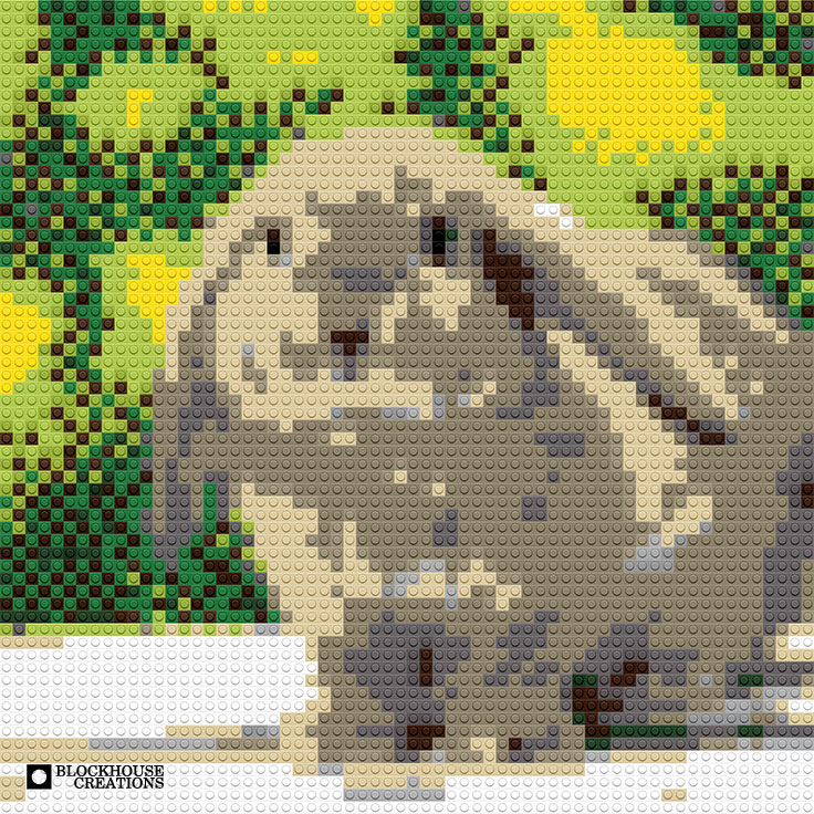100 Days of Mosaics – Day 27 – Bunny
