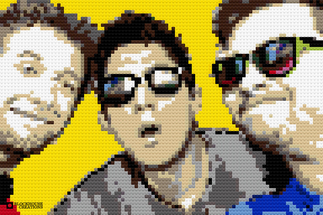100 Days of Mosaics – Day 29 – Three Friends