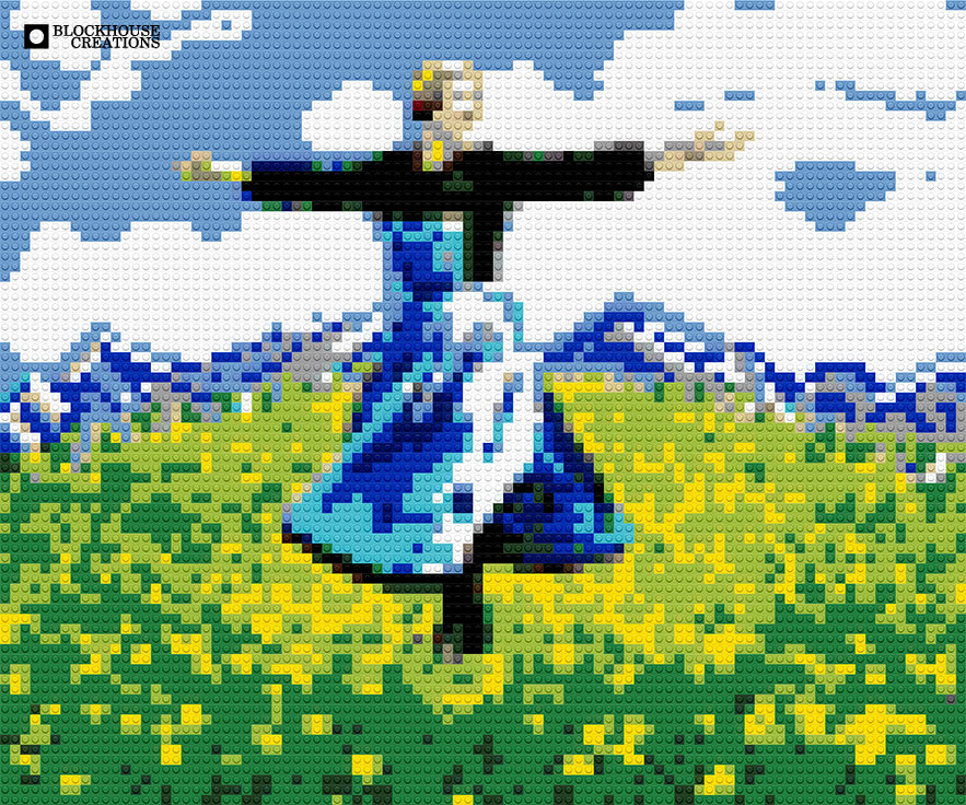 100 Days of Mosaics – Day 33 – The Sound of Music