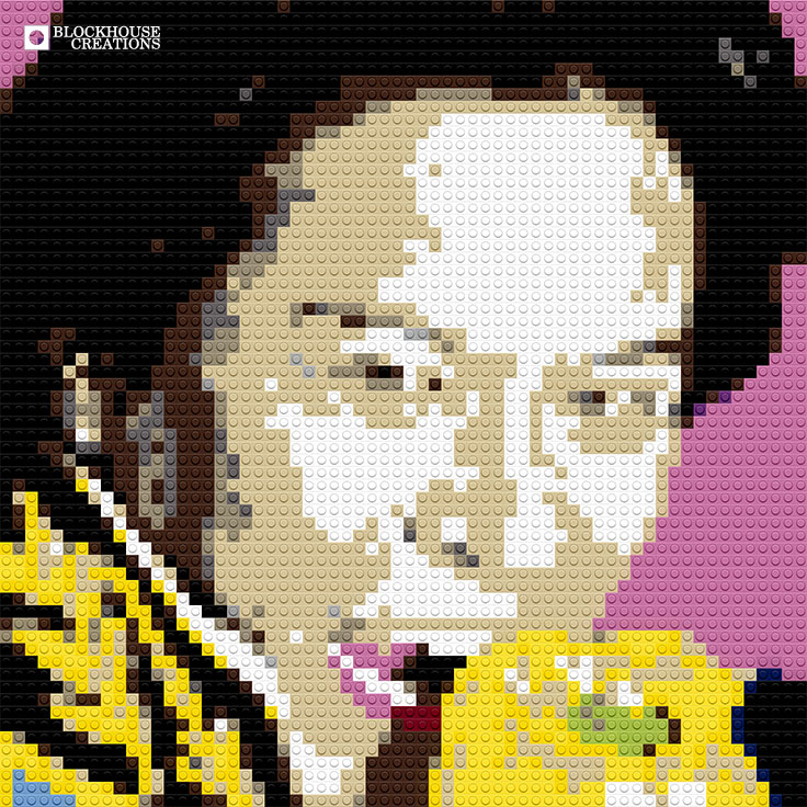 100 Days of Mosaics – Day 34 – Iron Chef Chairman Kaga