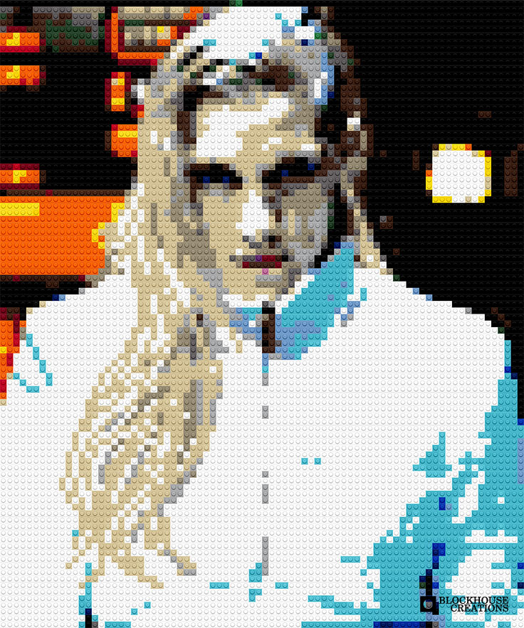 100 Days of Mosaics – Day 36 – Katee Sackhoff