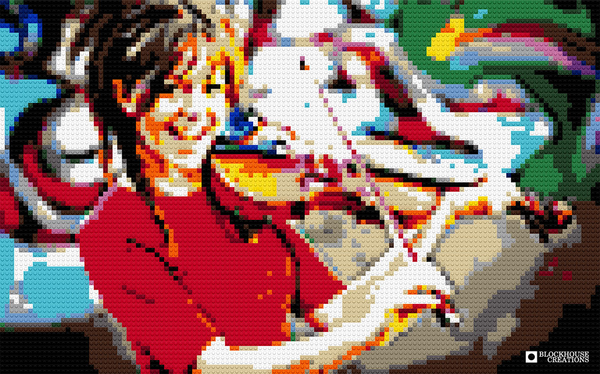100 Days of Mosaics – Day 37 – Lindsey Stirling