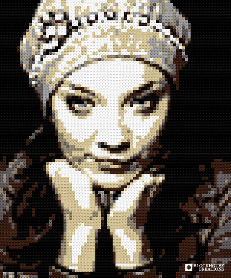 100 Days of Mosaics – Day 62 – Natalie Dormer