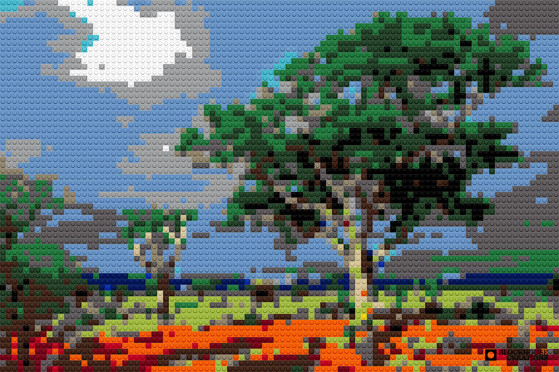100 Days of Mosaics – Day 64 – Kruger National Park