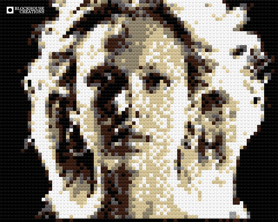 100 Days of Mosaics – Day 77 – Jessica Alba