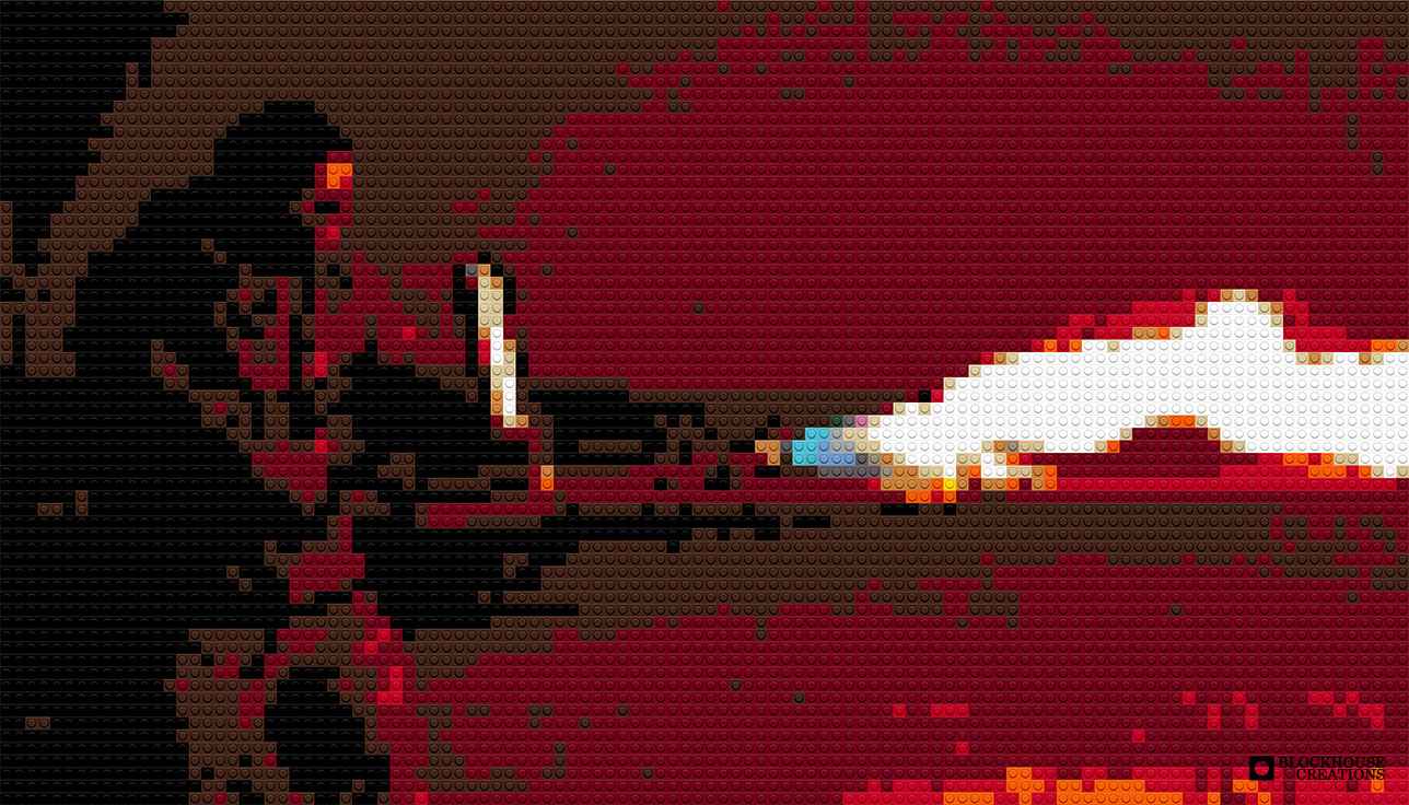 100 Days of Mosaics – Day 79 – XM42 Flamethrower