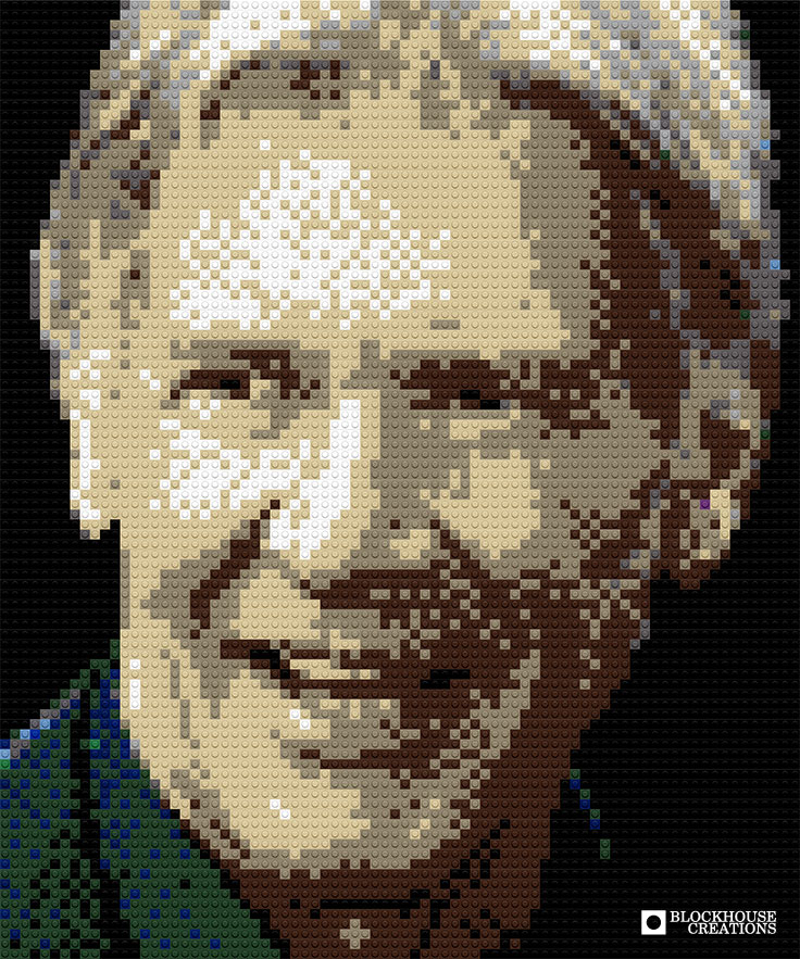 100 Days of Mosaics – Day 92 – Harrison Ford