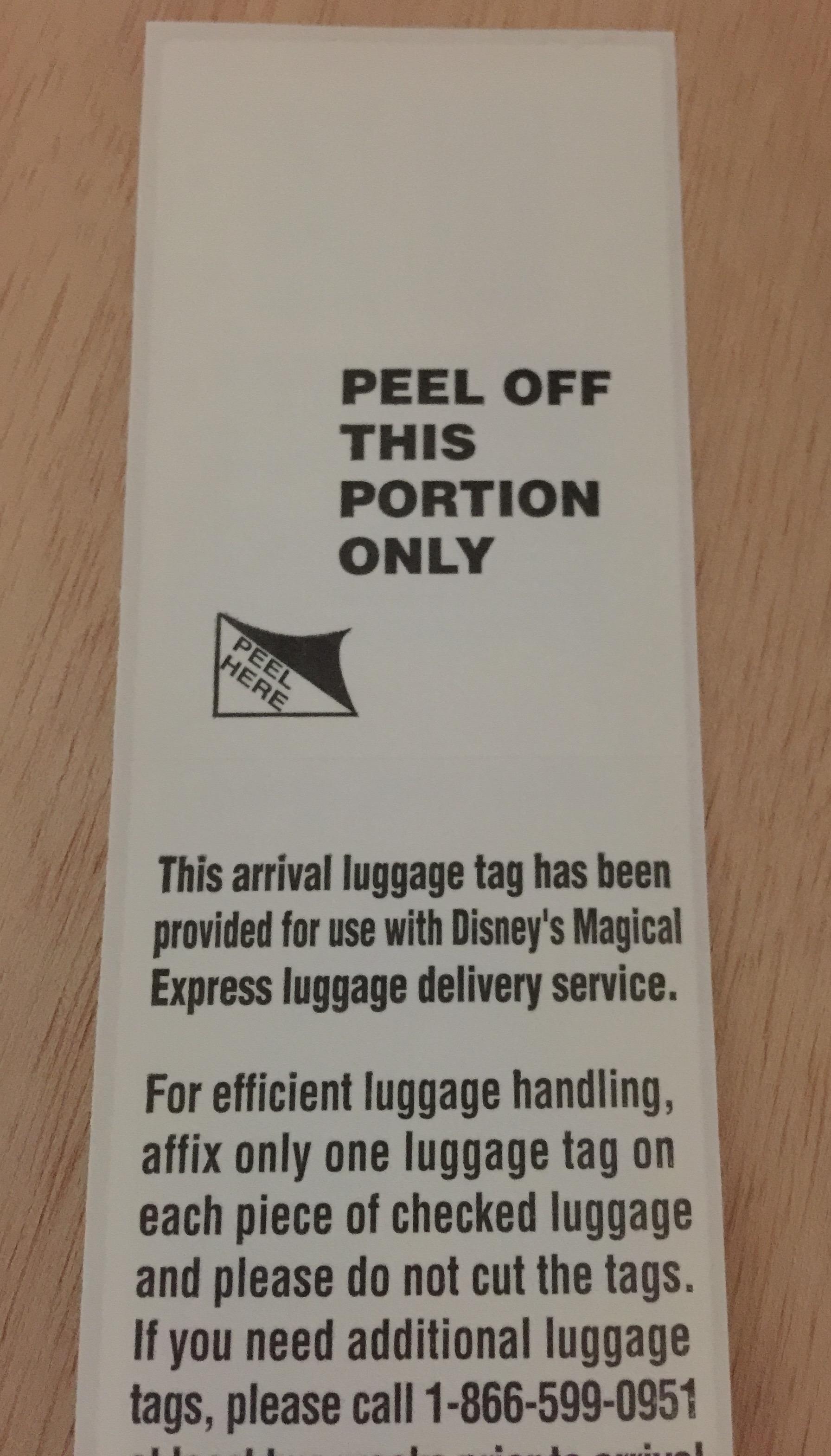 Fullsize Of Disney Luggage Tags