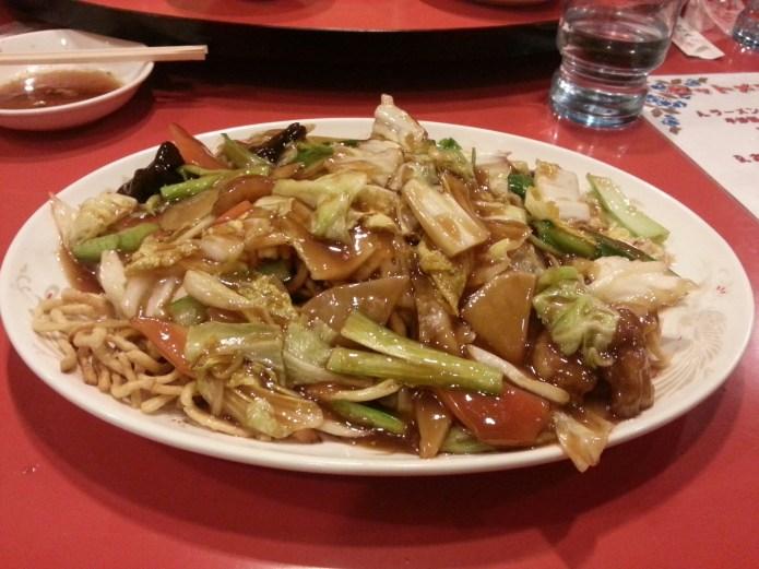 Monkfish Chow Mein