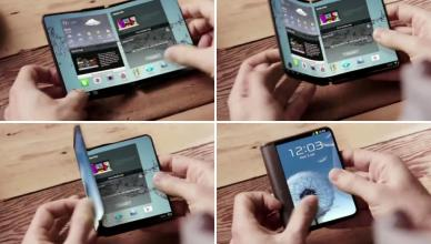 Samsung s'apprête à commercialiser le tout premier smartphone à écran pliable de sa génération