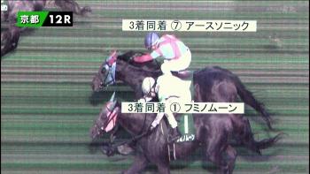 【競馬】 京阪杯の3着同着について審議