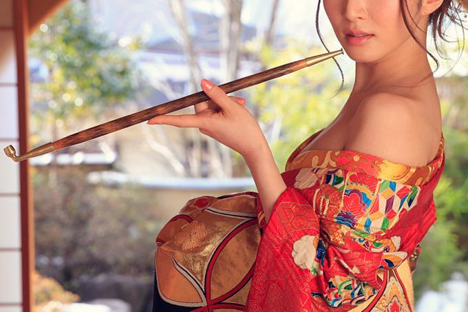 日本の和服は最高な浴衣・着物美女のエロ画像