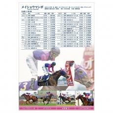 【競馬】 メイショウマンボ引退記念クオカード発売!台紙には全成績を掲載!嫌がらせか!
