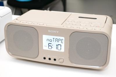 カセットブーム再来!ソニーがシンプルでスタイリッシュな新型ラジカセを新発売!音質にも自信の価格1.3万円